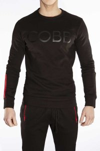 Alexander Cobb Sweeter Long Sleeved T Shirt Black SP04-23
