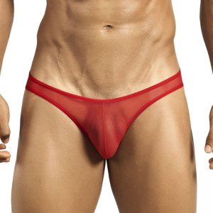 PPU Mesh Brief Underwear Red 1233