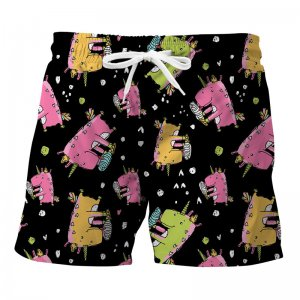 Mr. Gugu & Miss Go Dinocorns Trunks Swimwear ST843