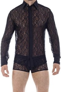 L'Homme Invisible Mystique Long Sleeved Shirt Black CH01-MYS...