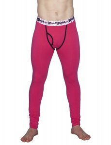 Ginch Gonch Mean Long Underwear Pants Pink 8134-121