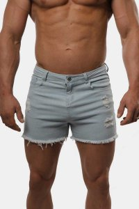 Jed North Deca Jean Shorts Light Blue JNBTM002