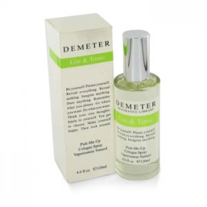 Demeter Gin & Tonic Cologne Spray 4 oz / 118.29 mL Men's Fra...