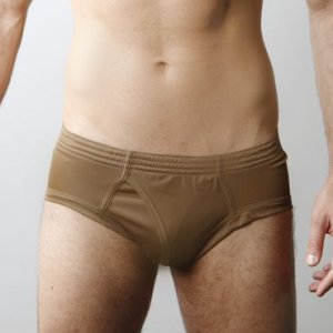 Players Nylon Tricot Brief Underwear Brown