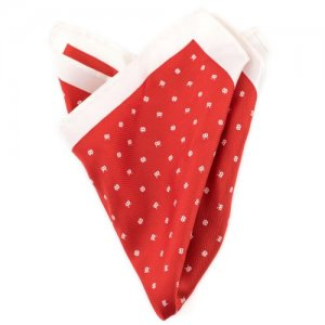Ulterior Motive Narrator Handkerchief Red/White
