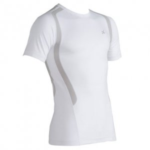 CW-X Ventilator Web Short Sleeved T Shirt White 270053