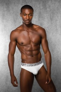 Doreanse Plain G String Underwear White 1288