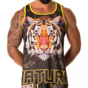 Jor TIGER Tank Top T Shirt 0190