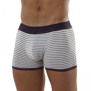 Intymen Sailor Stripe Boxer Brief Underwear Purple 5145