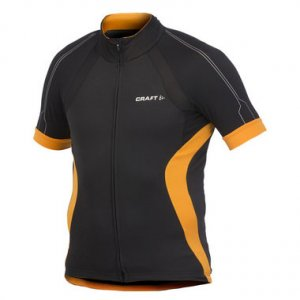 Craft Performance Bike Short Sleeved T Shirt Black/Tiger 1901937