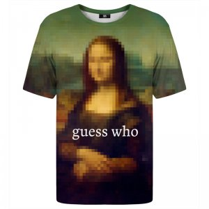 Mr. Gugu & Miss Go Guess Who Unisex Short Sleeved T Shirt TSH1539