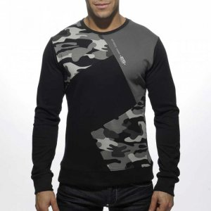 ES Collection Collage Camouflage Sweater Black/Dark Grey SP0...