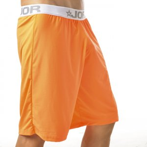 Jor NEON Loungewear Knee Length Shorts Underwear Orange