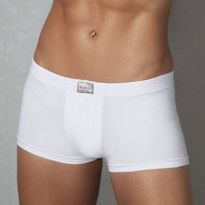 Doreanse Plain Boxer Brief Underwear White 1552