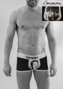 Geronimo Boxer Brief Underwear 1669B1-3