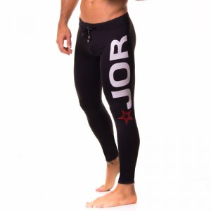 Jor OLYMPIC Sportswear Long Pants BLACK 0163