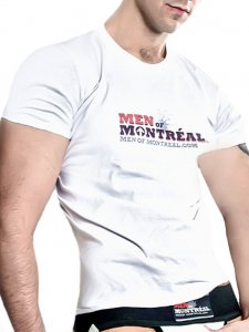 Men Of Montreal Berri Short Sleeved T Shirt White
