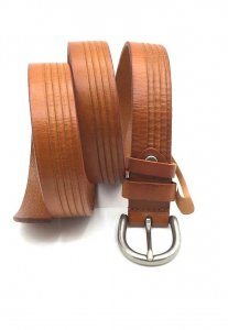 Spy Henry Lau Leather Belt Brown SP788AC66CGRHK