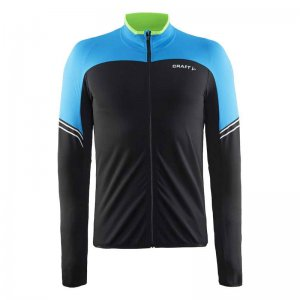 Craft Velo Thermal Jersey Long Sleeved T Shirt Pacific/Black 1904441