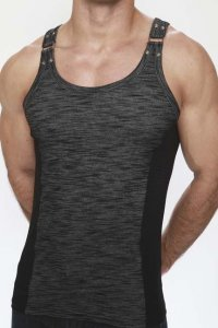Pistol Pete Cadet Tank Top T Shirt Black TK107-415