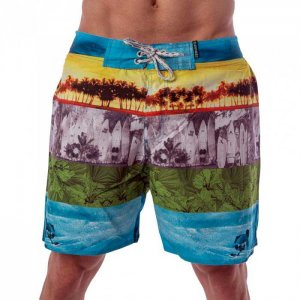 Lord Summer Surf Boardshorts Beachwear Light Blue MA010
