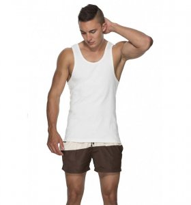 Marcuse Hyper Tank Top T Shirt White