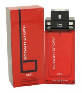 Jacques Bogart Story Red Eau De Toilette Spray 3.4 oz / 100.55 mL Men's Fragrance 497979