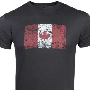 Ruff Riders Maple Leaf Short Sleeved T Shirt