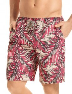Hawai Palm Boardshorts Beachwear Coral 51904
