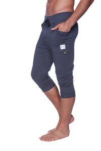 4-rth Cuffed Yoga 3/4 Pants Charcoal