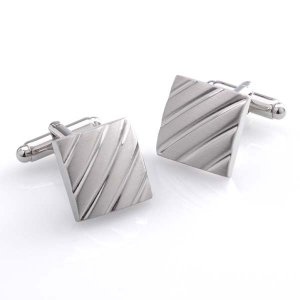 Duncan Walton Clough Cufflinks Brushed C2480B