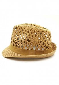 Spy Henry Lau Delicated Straw Hat Brown PH498MHT