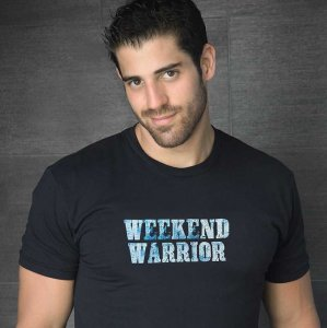 Ruff Riders Weekend Warrior Short Sleeved T Shirt Black