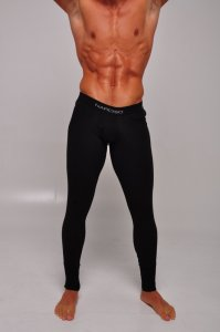 Narciso Long Underwear Pants BOXER 099 BLACK