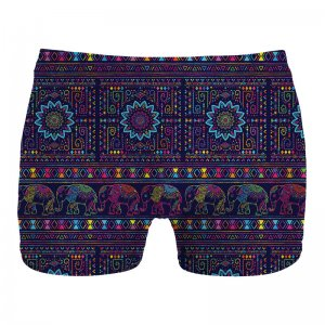 Mr. Gugu & Miss Go Elephants Boxer Brief Underwear UN1070