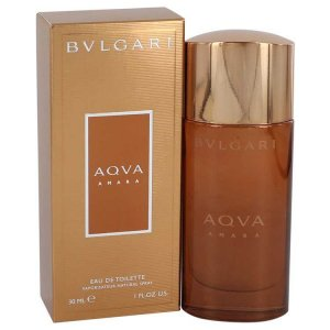 Bvlgari Aqua Amara Eau De Toilette Spray 1 oz / 29.57 mL Men...