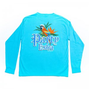 Party Pants Party Extra Long Sleeved T Shirt Caribbean PM201212