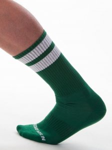 Barcode Berlin [3 pack] Gym Socks Army/White 91366-1201