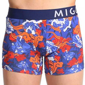 MIGO Warriors Boxer Brief Underwear Blue