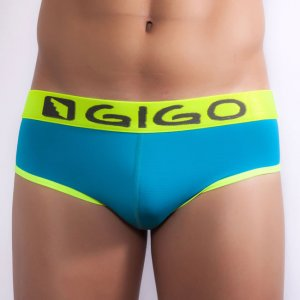 Gigo WAVES BLUE Brief Underwear