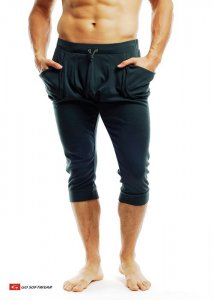 Go Softwear Pull-On Yogi 3/4 Pants Olive 4758
