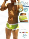 Icker Sea Transparent Curve Square Cut Trunk Swimwear COB-12-108M