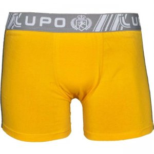 Lupo Cotton Boxer Brief Underwear Yellow 601-1
