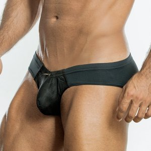 Intymen Burnout Pouch Brief Underwear Black 6161