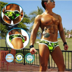 Icker Sea Little Frogs Mini Bikini Swimwear COB-14-LF04