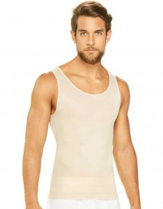 Diane & Geordi Shapewear Tank Top Beige 3301