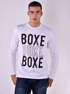 Roberto Lucca BOXE Regular Fit Long Sleeved T Shirt White 80...