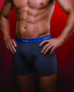 Jockey No Ride-Up Trunk Underwear Black M9344B