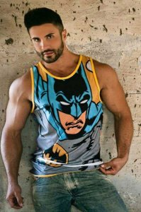 Battysta Batman Tank Top T Shirt