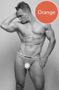 Pride Archery Jock Strap Underwear Orange PRU-092
